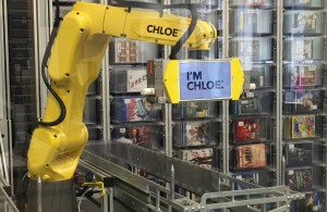 Retail Robot Chloe at Best Buy