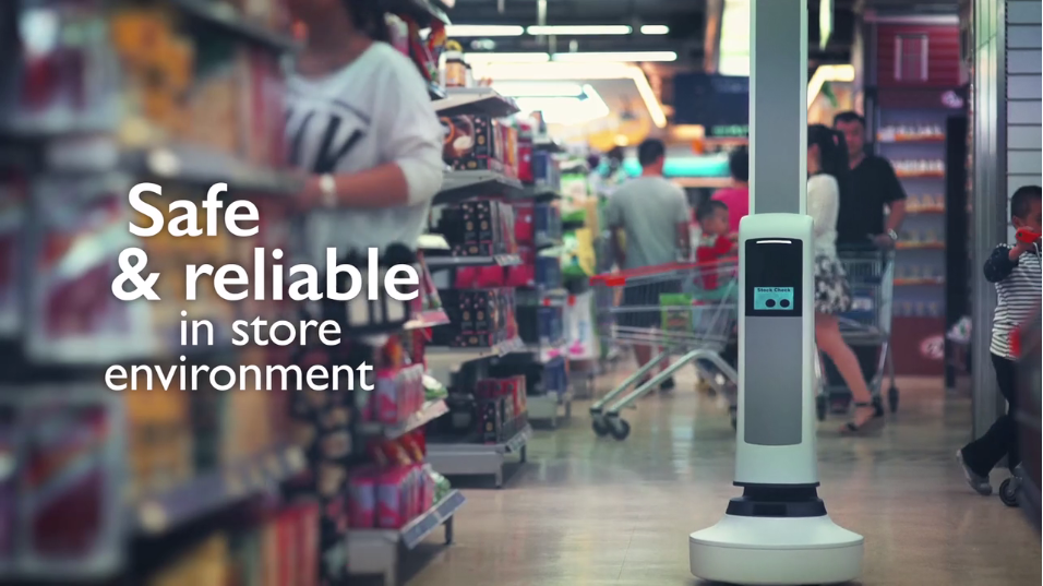Retail robots Tally by Simbe