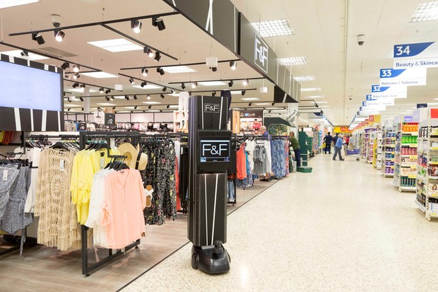 Retail robots RFspot